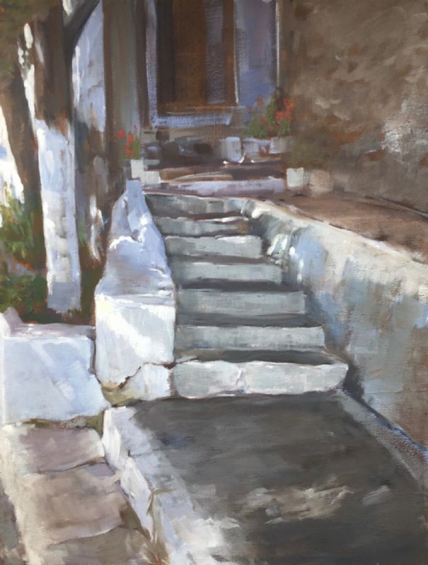 STEPS IN THE SHADE